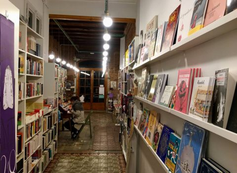 A bookshop with personality: Casa Usher