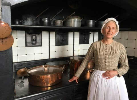 Audley End's English mansion discovers its sophisticated Victorian cuisine to visitors