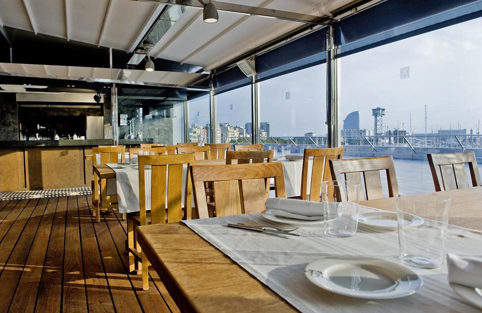 Observatorio. Cenas excepcionales. Cocinas de diseño Deulonder.