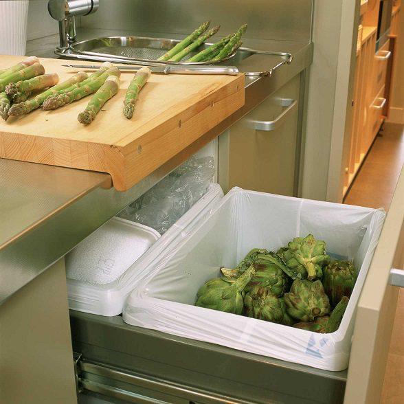 El reciclaje de residuos las mejores soluciones for Cubo basura cocina