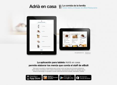 La cocina en las aplicaciones para dispositivos móviles: la selección de Deulonder