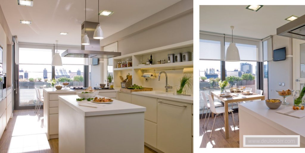 Proyecto cocina moderna 12 for Cocinas modernas outlet