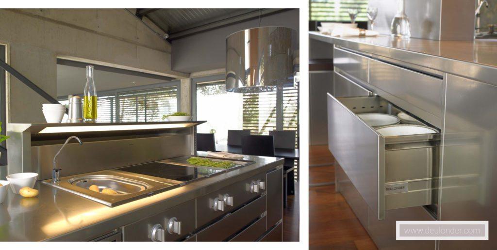 Proyecto cocina moderna 14 for Cocinas modernas outlet