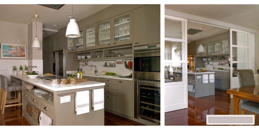 Proyecto cocina moderna 02 for Cocinas modernas outlet