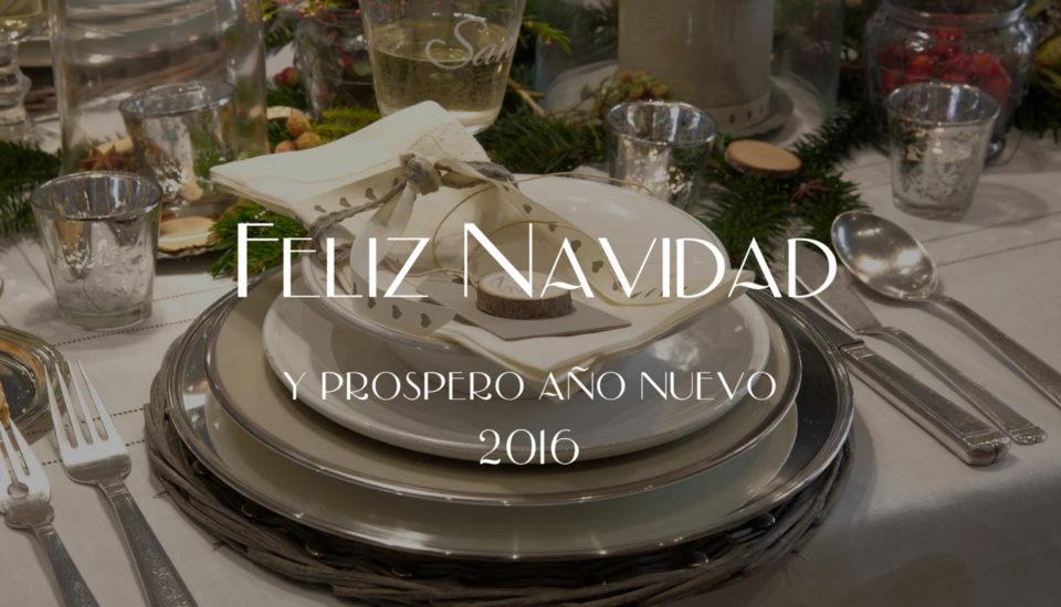 ARTÍCULO 06 / 2015 / FELIZ NAVIDAD Y PRÓSPERO 2016