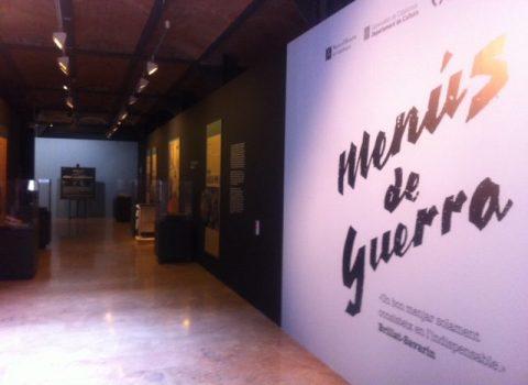 New exhibition: War cuisine and avant-garde survival
