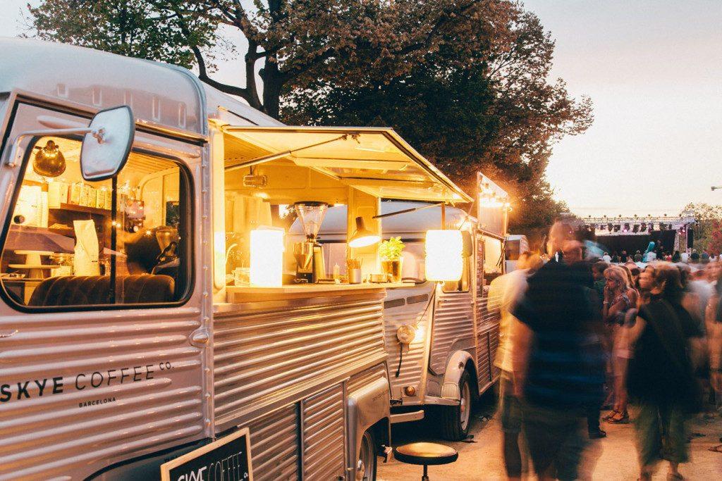 Cooking on wheels. Van Van Market.